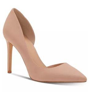 I.N.C. Pointy Toe Nude Heels
